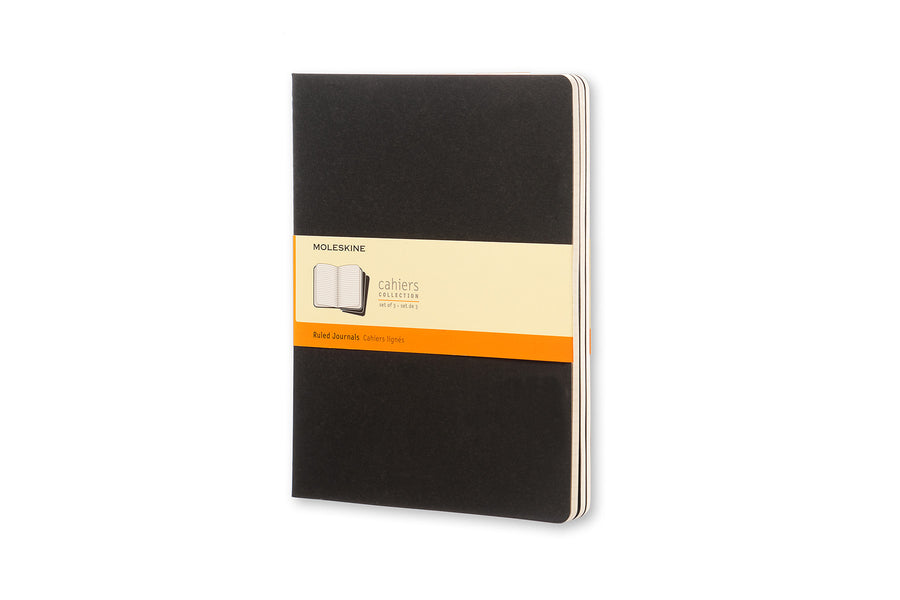 Moleskine notebook cahier x-large ruled