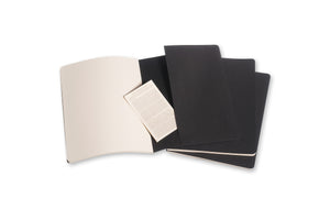 Moleskine notebook cahier x-large plain