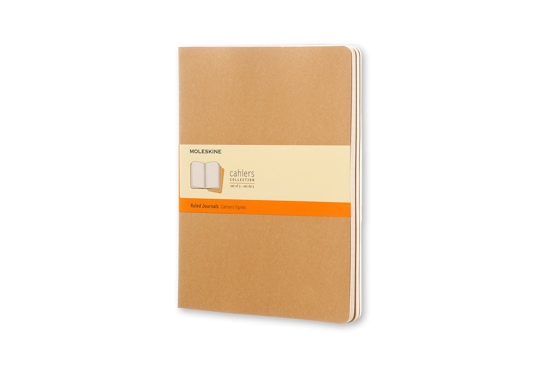 Moleskine notebook cahier x-large lined