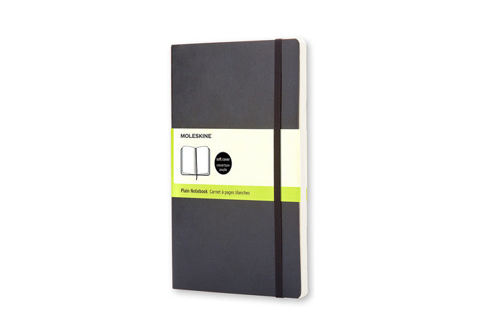 Moleskine notebook large plain softcover