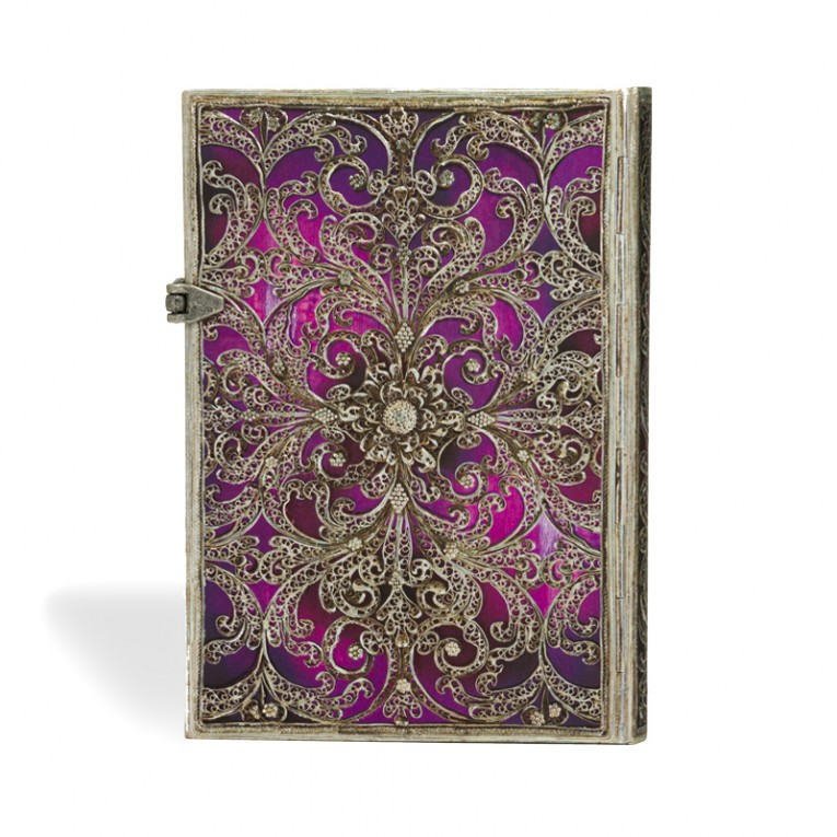 Paperblanks Notebook Midi Lined Aubergine