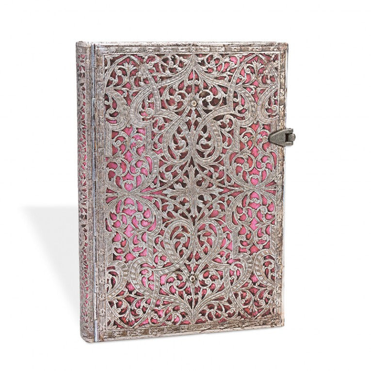 Paperblanks Notebook Midi Lined Blush Pink