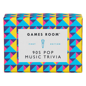 Ridley's Games Room 90s Pop Music Trivia