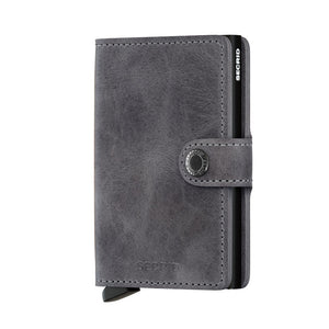 Secrid Miniwallet vintage grey - black