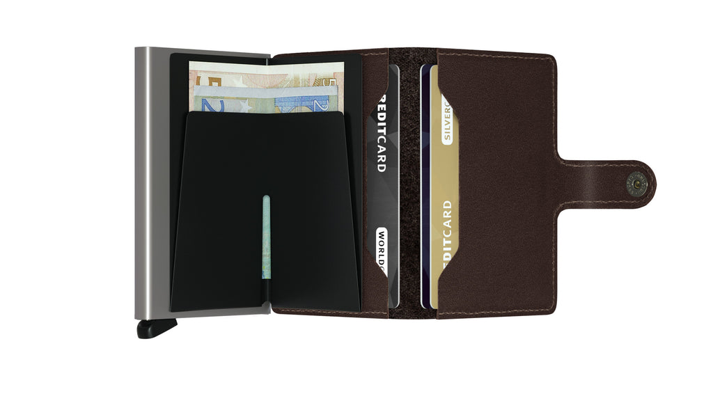 Secrid Miniwallet original darkbrown