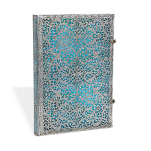 Load image into Gallery viewer, Paperblanks Notebook Grande Plain Maya Blue