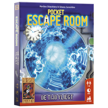 999Games Pocket Escape Room - De Tijd Vliegt