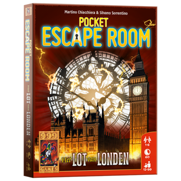 999Games Pocket Escape Room - Het Lot van Londen