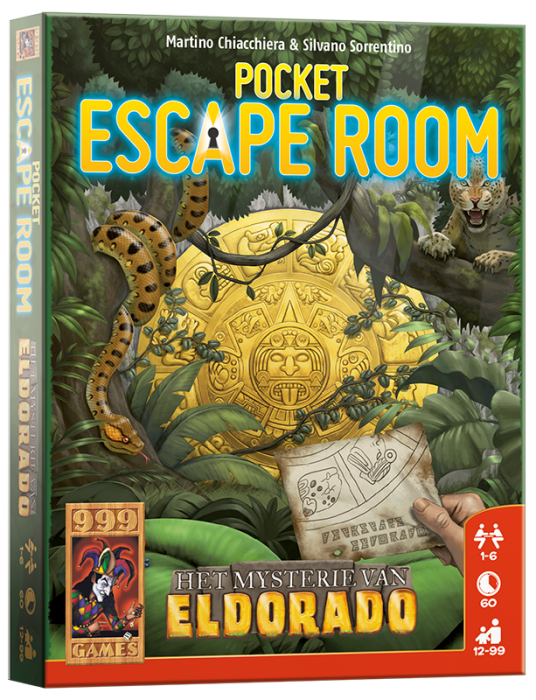 999Games Escape Room: Het Mysterie van eldorado