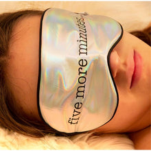 Load image into Gallery viewer, Ultra Soft Sleepmask - Five More Minutes...