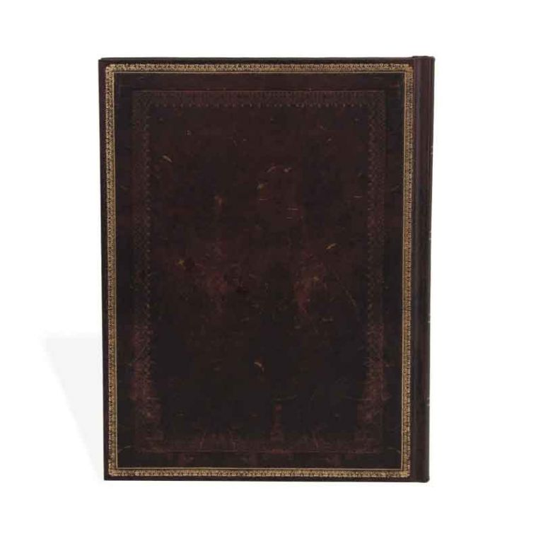 Paperblanks Notebook Ultra Lined Black Moroccan