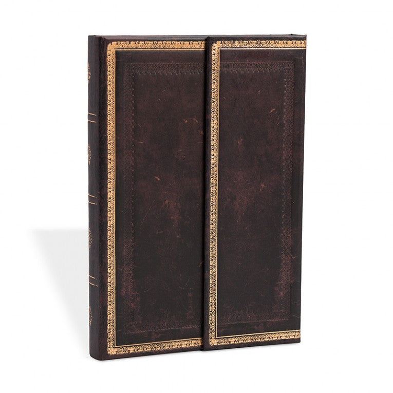 Paperblanks Notebook Grande Blank Black Moroccan