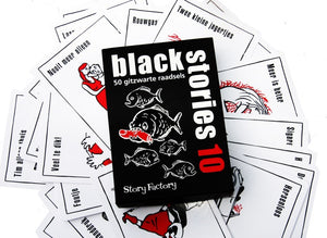 Black Stories 10 - 50 jet black riddles