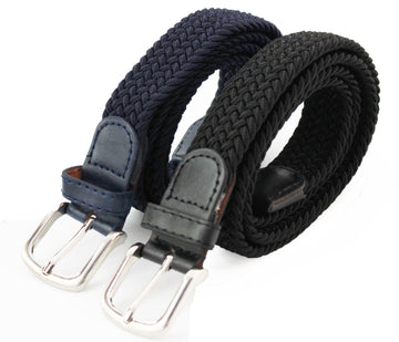 Women's Elasticated Belt Small Black