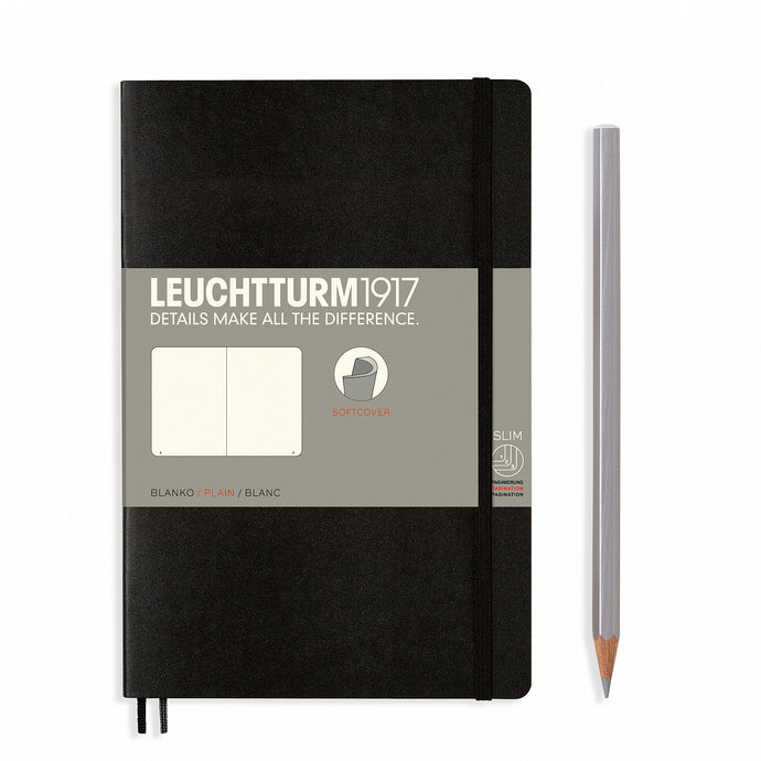 Leuchtturm paperback plain notebook (B6+) softcover