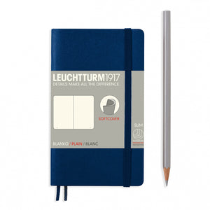 Leuchtturm pocket plain notebook (A6) softcover