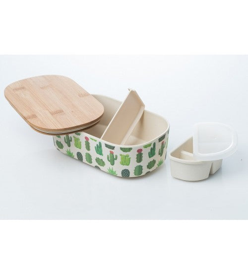 Bamboo Lunch Box Cactus