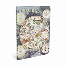 Load image into Gallery viewer, Paperblanks Notebook Midi Lined Celestial Planisphere