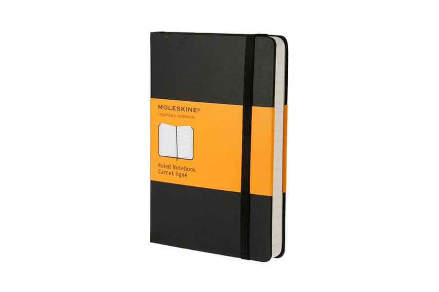 Moleskine notebook hardcover classic ruled