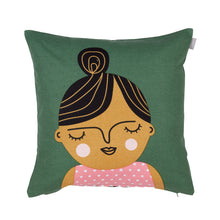 Load image into Gallery viewer, Spira of Sweden cushion cover 'Esmeralda'