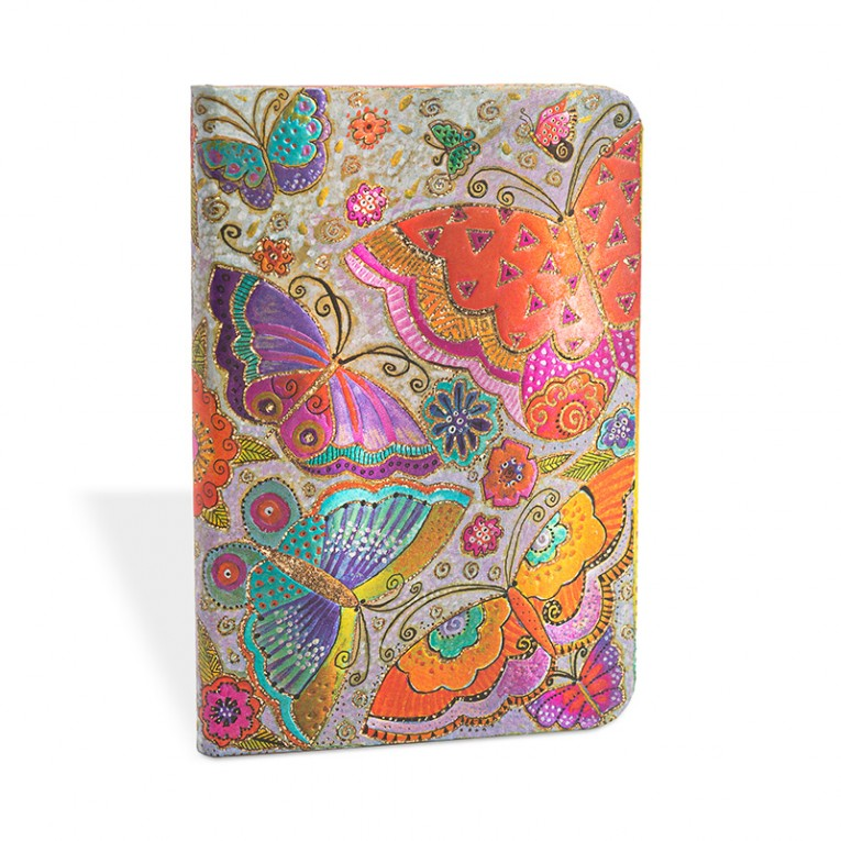 Paperblanks Notebook Midi Lined Flutterbyes