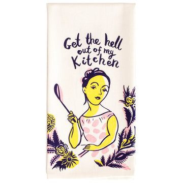Dish Towel - Get The Hell Out Of