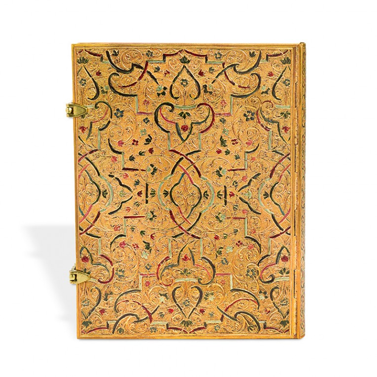 Paperblanks Notebook Ultra Lined Gold Inlay
