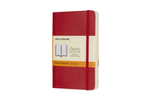 Load image into Gallery viewer, Moleskine notebook softcover classic lined