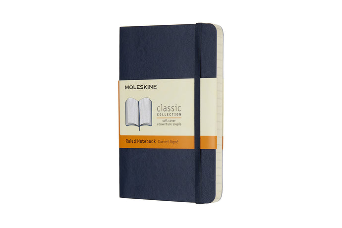 Moleskine notebook softcover classic lined