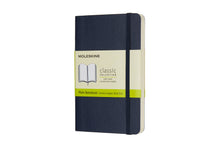 Load image into Gallery viewer, Moleskine notebook softcover classic plain