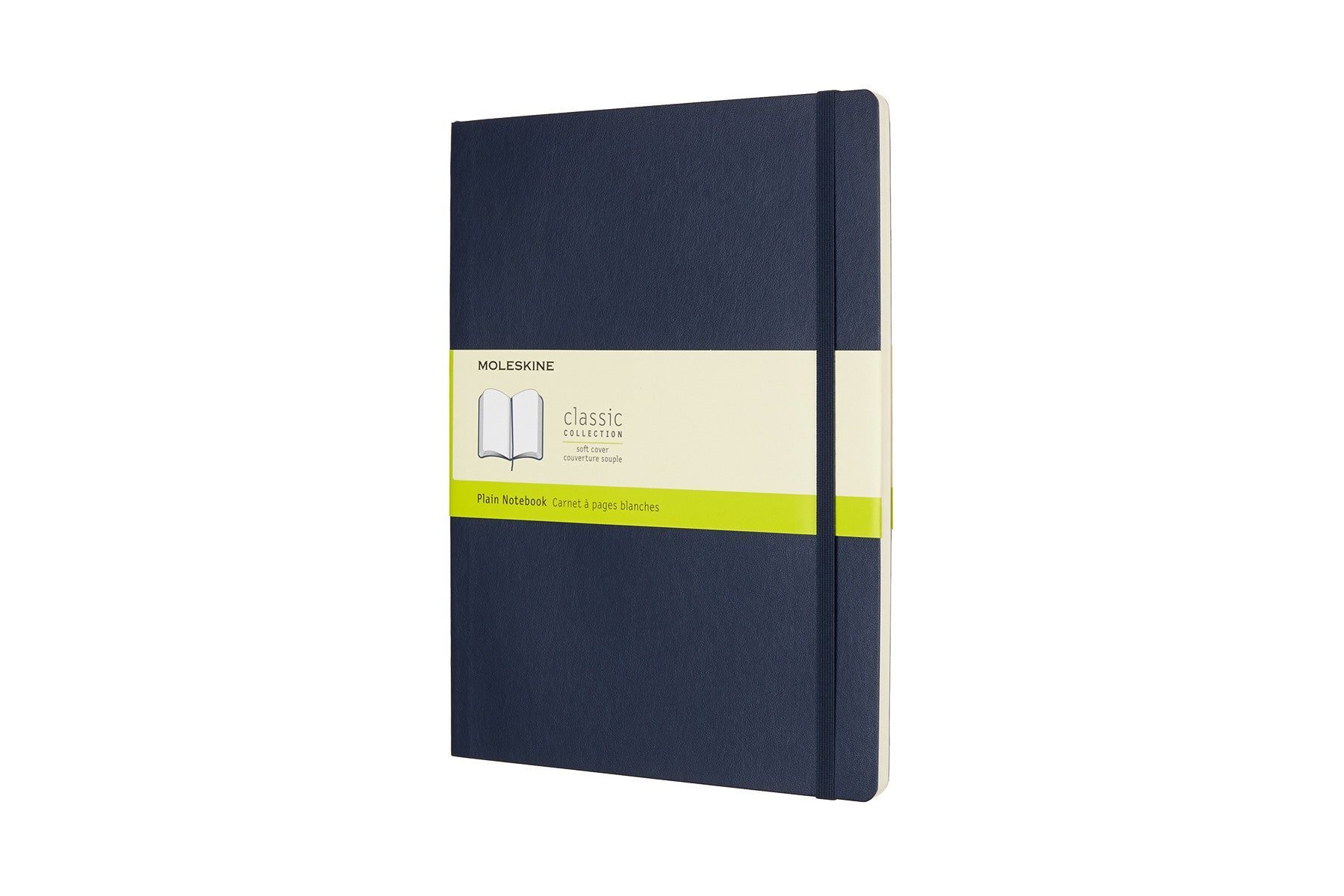 Moleskine notebook softcover x-large plain