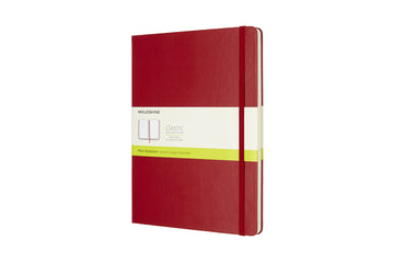 Moleskine notebook hardcover x-large plain