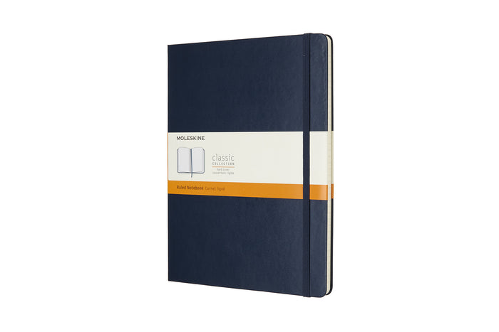 Moleskine notebook hardcover x-large ruled