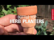 Load and play video in Gallery viewer, Bottle Top Herb Planters