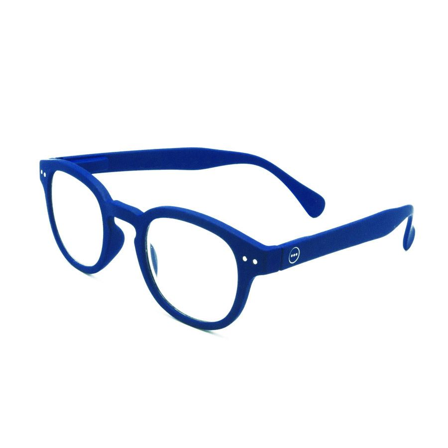Izipizi #C navy blue reading glasses +1