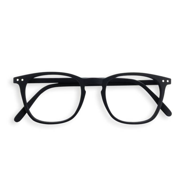 Izipizi #E black reading glasses +1