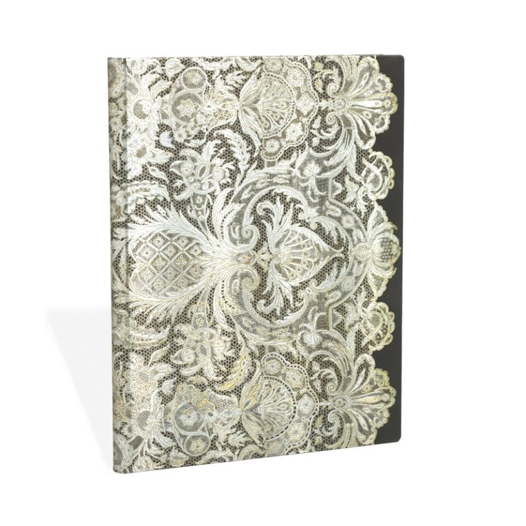 Paperblanks Notebook Ultra Lined Ivory Veil