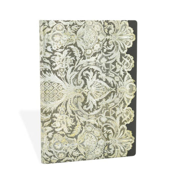 Paperblanks Notebook Midi Lined Ivory Veil