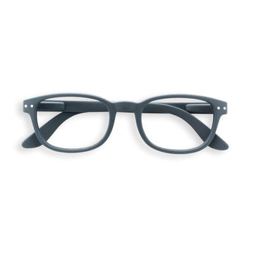 Izipizi #B grey reading glasses +1