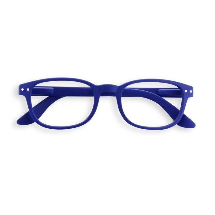 Izipizi #B navy blue reading glasses +1