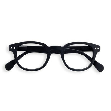 Izipizi #C black reading glasses +1