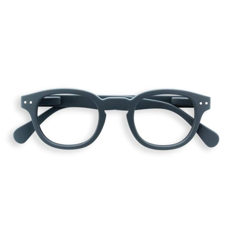 Izipizi #C grey reading glasses +1