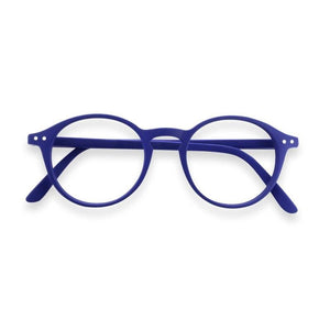 Izipizi #D navy blue reading glasses +1