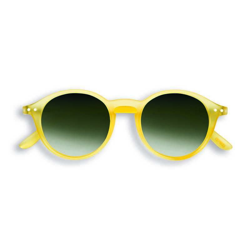 IZIPIZI #D yellow chrome Sunglasses +0