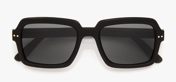IZIPIZI L'Amiral Sunglasses BLACK +0