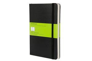 Moleskine notebook hardcover large plain