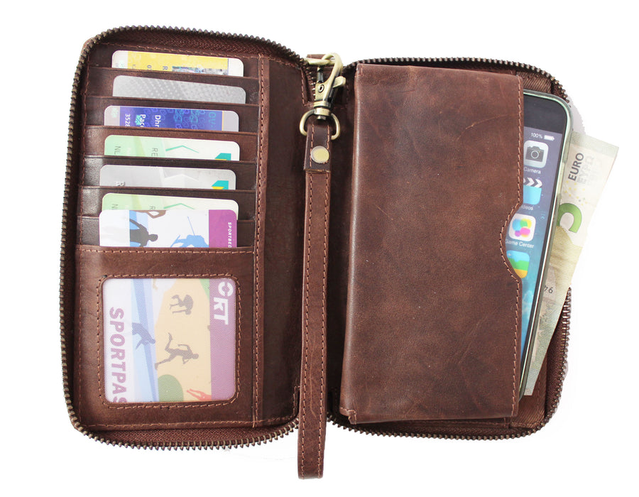 Leather Purse with Phone Pouch *Special Price*
