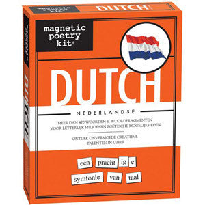 Magnetic Poetry Kit - Dutch