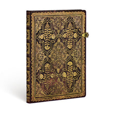 Lade das Bild in den Galerie-Viewer, Paperblanks Notebook Grande Blanko Mahagoni