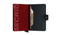 Load image into Gallery viewer, Secrid Miniwallet matte black & red